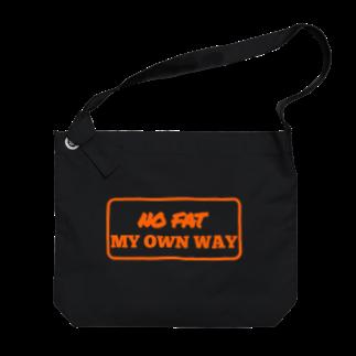 土日梁のNEW BKNR Big shoulder bags