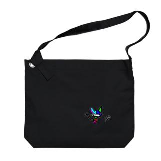 ますくねこ(石渡真修) Big shoulder bags