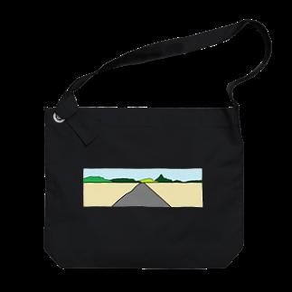 アメリカンベースのハイウェイー Big shoulder bags