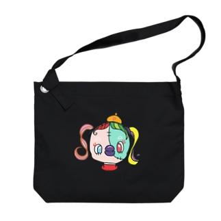 ピカソちゃん Big shoulder bags