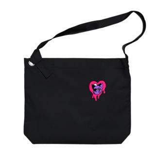 ビビットハートキャット Big shoulder bags