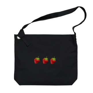 いちご🍓 Big shoulder bags