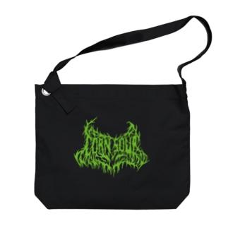 CORN SOUP (green) Big shoulder bags
