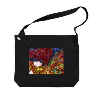 suparnaのHI-NO-TORI 火の鳥 Big Shoulder Bag
