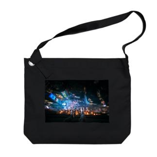 【スクエア】 Big shoulder bags