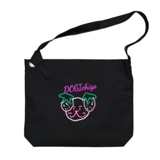 IchigoDOG Big shoulder bags