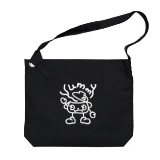 闇鍋マンは『Yummy』と鳴く Big Shoulder Bag