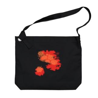 紅津軽 Big shoulder bags