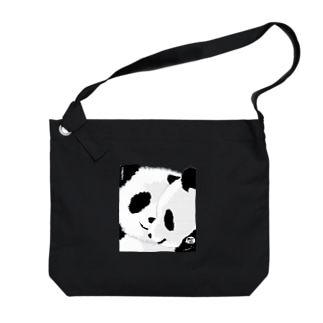 PANDA COMPLEX パンダ頭複合体 Big shoulder bags
