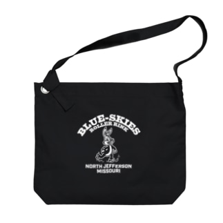 BLUE SKIES ROLLER RINK_WHT Big shoulder bags