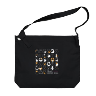 BLACK GUINEA PIGS.(モルモット) Big shoulder bags