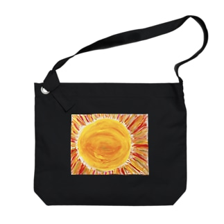 太陽 Big shoulder bags