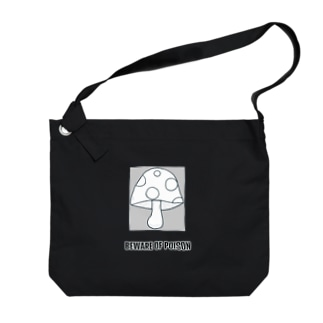 キノコ Big shoulder bags