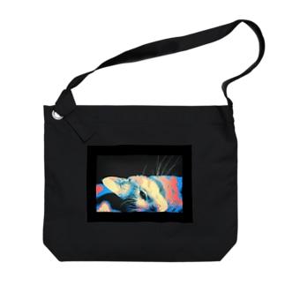 Lumo君 Big shoulder bags