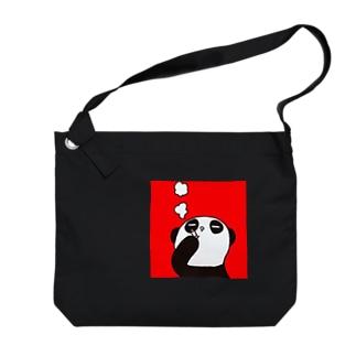 パンダのDAーさん Big shoulder bags