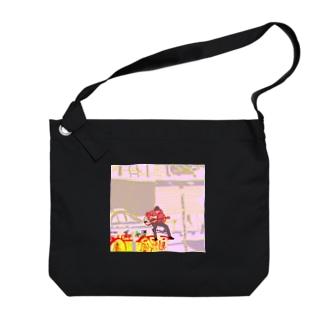 カイガイノヒト Big shoulder bags