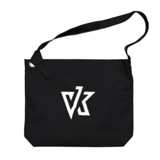 VK ロゴ ホワイト Big shoulder bags