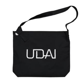 UDAI公式ロゴグッツ Big shoulder bags