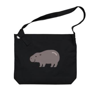 コビトカバくん Big shoulder bags