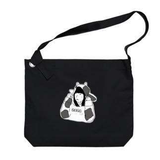うじけ2021濃色 Big Shoulder Bag