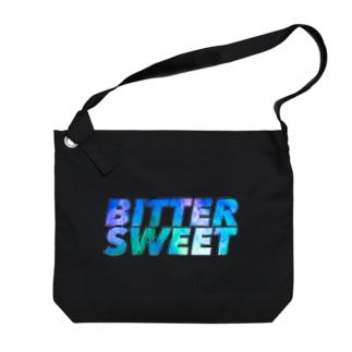 BSブルーグラデ Big shoulder bags