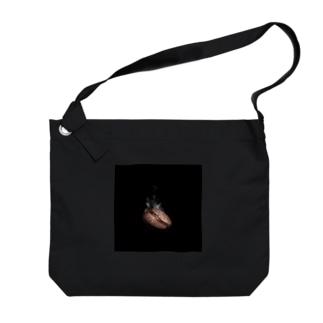 ほかほかコーヒー豆ver.2 Big shoulder bags