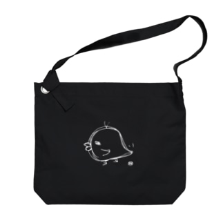歩く、ひよこ Big shoulder bags