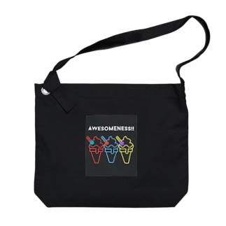 Awesomeness! Big shoulder bags