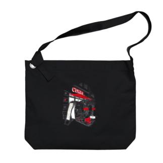 Berlinシリーズ「軽食」ver2 Big shoulder bags