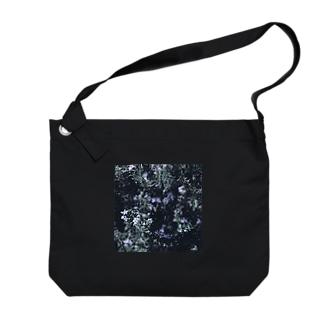 ローズマリーの花 Big shoulder bags