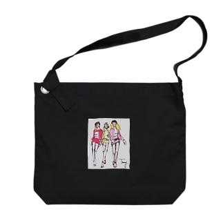 スーパーモデル Big shoulder bags