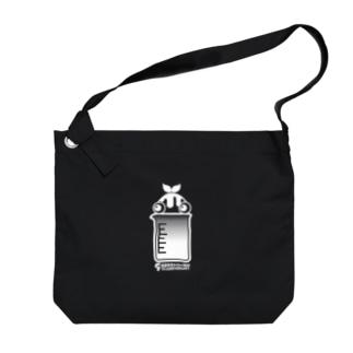 暗蔵喫茶Killer饅頭のキラマン5周年記念グッズ Big Shoulder Bag