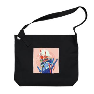 赤鬼 Big Shoulder Bag