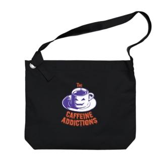 Theカフェイン中毒ズ(Halloween) Big Shoulder Bag