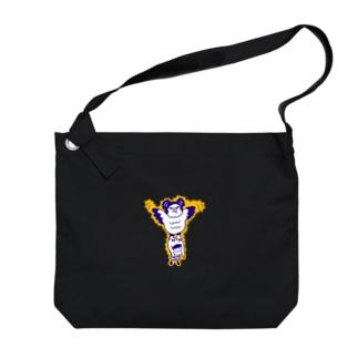 カンムリクマタカ Big shoulder bags