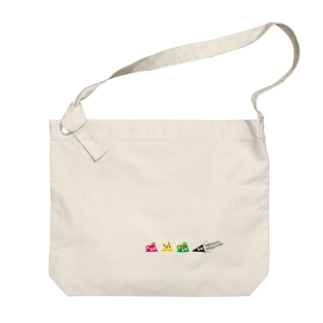 withスリスリくん Big shoulder bags