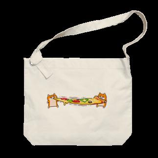 NORICOPOのピザビヨーンクソハム Big shoulder bags