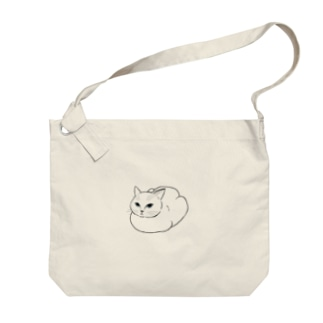 ねこ1(カラー) Big shoulder bags