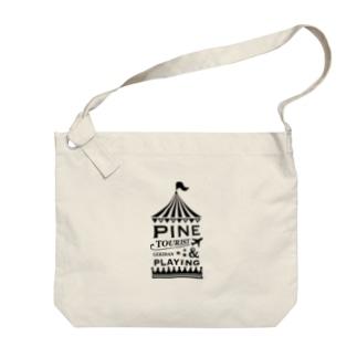 パイン&プレイングオリジナル Big shoulder bags