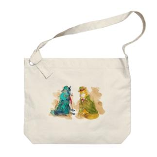 WOLF Holmes & Watson Big shoulder bags
