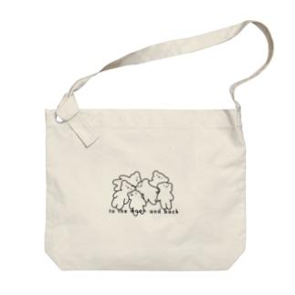 🐻:くまがいっぱいコレクション Big shoulder bags