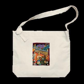 izumi_salonのネオン Big shoulder bags