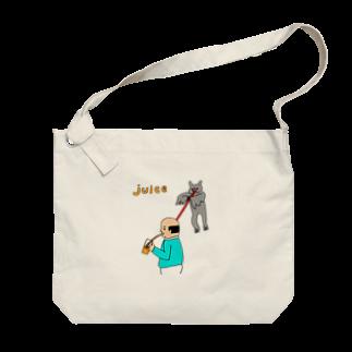 花くまゆうさくのJUICE(ジュース) Big shoulder bags