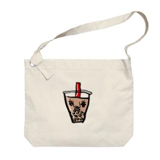 タピオカ Big shoulder bags