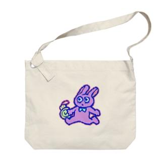 いそげ!うさぎさん! Big shoulder bags