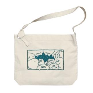 星夜 Big shoulder bags