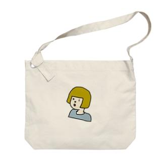 okappa riko Big shoulder bags