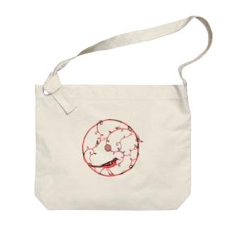 赤い鳥 Big shoulder bags
