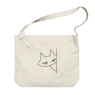 クミンねこ Big shoulder bags