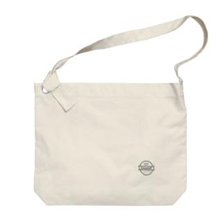 WP ZoomUP シンプル 黒ロゴ Big shoulder bags